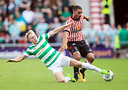 Sunderland v Celtic, Pre-Season Friendly, 29 July 2017