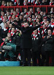 West Ham Manager, Sam Allardyce  - Photo mandatory by-line: Joe Meredith/JMP - Mobile: 07966 386802 - 25/01/2015 - SPORT - Football - Bristol - Ashton Gate - Bristol City v West Ham United - FA Cup Fourth Round