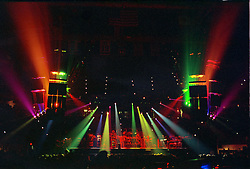 The Grateful Dead Live at The Civic Center, Hartford Connecticut 19 March 1990. Wide Lighting Design Image Capture.