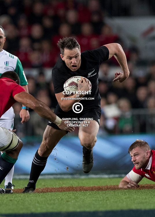 Ben Smith during game 7 of the British and Irish Lions 2017 Tour of New Zealand, the first Test match between  The All Blacks and British and Irish Lions, Eden Park, Auckland, Saturday 24th June 2017<br /> (Photo by Kevin Booth Steve Haag Sports)<br /> <br /> Images for social media must have consent from Steve Haag