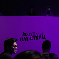 BEIJING, MAY 11, 2012 : guests attend a party after a  Jean-Paul Gaultier fashion  show in Beijing.