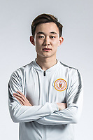 **EXCLUSIVE**Portrait of Chinese soccer player Yu Bin of Beijing Renhe F.C. for the 2018 Chinese Football Association Super League, in Shanghai, China, 24 February 2018.