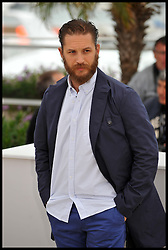 Tom Hardy attends the photocall for the film Lawless at the Cannes Film festival, Saturday May 19, 2012. Photo by Andrew Parsons/i-Images.<br /> File Photo : Tom Hardy in talks to play both Kray Twins.<br /> Tom Hardy is rumoured to be in line to play the notorious Kray twins, Reginald and Ronald, in an upcoming biopic.<br /> Photo filed Tuesday 25th Feb 2014.