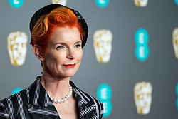 Sandy Powell attending 72nd British Academy Film Awards, Arrivals, Royal Albert Hall, London. 10th February 2019