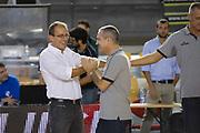 DESCRIZIONE : Roma LNP Serie A2 Ovest 2015-16 Acea Roma Orsi Tortona<br /> GIOCATORE : Demis Cavina<br /> CATEGORIA : allenatore coach pregame<br /> SQUADRA : Orsi Tortona<br /> EVENTO : Campionato Serie A2 Ovest 2015-2016<br /> GARA : Acea Roma Orsi Tortona<br /> DATA : 04/10/2015<br /> SPORT : Pallacanestro <br /> AUTORE : Agenzia Ciamillo-Castoria/G.Masi<br /> Galleria : Serie A2 Ovest 2015-2016<br /> Fotonotizia : Roma Serie A2 Ovest 2015-16 Acea Roma Orsi Tortona