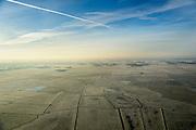 Nederland, Utrecht, Gemeente Bunschoten, 18-01-2016; Polder ARkemheem, ten oosten van Spakenburg. Nationaal landschap Arkemheen-Eemland, een van de laatste open veenweide landschappen in de Noordoostelijke Randstad. One of the last open peatland landscapes with polders in Northeastern Randstad (north of Utrecht).<br /> luchtfoto (toeslag op standard tarieven);<br /> aerial photo (additional fee required);<br /> copyright foto/photo Siebe Swart
