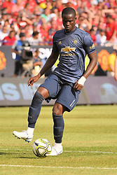 July 28, 2018 - Ann Arbor, MI, U.S. - ANN ARBOR, MI - JULY 28: Manchester United Defender Eric Bailly (3) in action during the ICC soccer match between Manchester United FC and Liverpool FC on July 28, 2018 at Michigan Stadium in Ann Arbor, MI. (Photo by Allan Dranberg/Icon Sportswire) (Credit Image: © Allan Dranberg/Icon SMI via ZUMA Press)