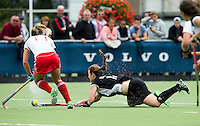 BREDA (Neth.)  during the match  New Zealand vs England U21 women . Volvo Invitational Tournament U21. COPYRIGHT KOEN SUYK