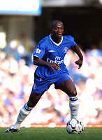 Claude Makelele (Chelsea) Chelsea v Tottenham Hotspur, FA Premiership, 13/09/2003. Credit: Colorsport / Matthew Impey DIGITAL FILE ONLY