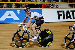 26-03-2011 WIELRENNEN: UCI TRACK CYCLING WORLD CHAMPIONSHIPS 2011: APELDOORN<br /> Erik Mohs GER<br /> ©2011 Ronald Hoogendoorn Photography