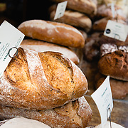 Fresh bread at Borough Market, London