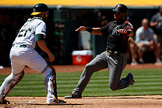 20180527 - Arizona Diamondbacks at Oakland Athletics
