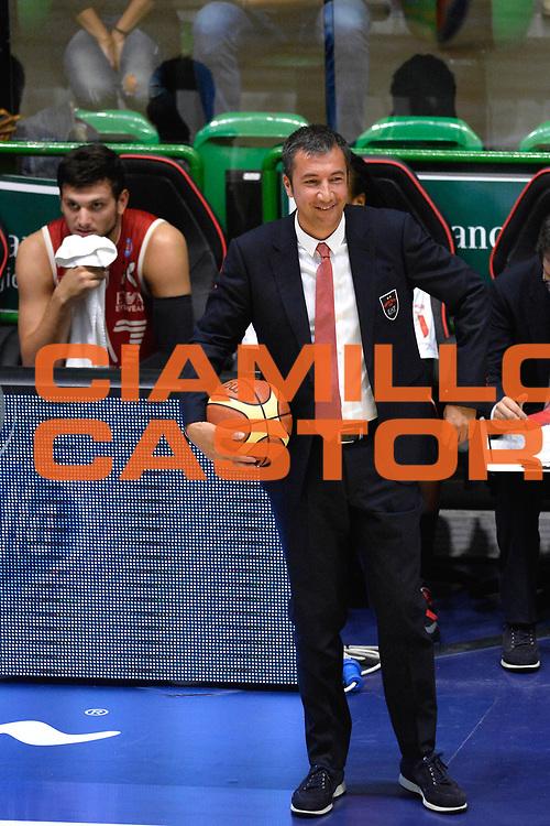 DESCRIZIONE : Sassari Lega Serie A 2014/15 Beko Supercoppa 2014 Finale EA7 Emporio Armani Milano Dinamo Banco di Sardegna Sassari <br /> GIOCATORE : Luca Banchi<br /> CATEGORIA : Ritratto<br /> SQUADRA : EA7 Emporio Armani Milano<br /> EVENTO : Beko Supercoppa 2014 <br /> GARA : EA7 Emporio Armani Milano Dinamo Banco di Sardegna Sassari <br /> DATA : 05/10/2014 <br /> SPORT : Pallacanestro <br /> AUTORE : Agenzia Ciamillo-Castoria/GiulioCiamillo <br /> Galleria : Lega Basket A 2014-2015 Fotonotizia : Sassari Lega Serie A 2014/15 Beko Supercoppa 2014Finale EA7 Emporio Armani Milano Dinamo Banco di Sardegna Sassari <br /> Predefinita :