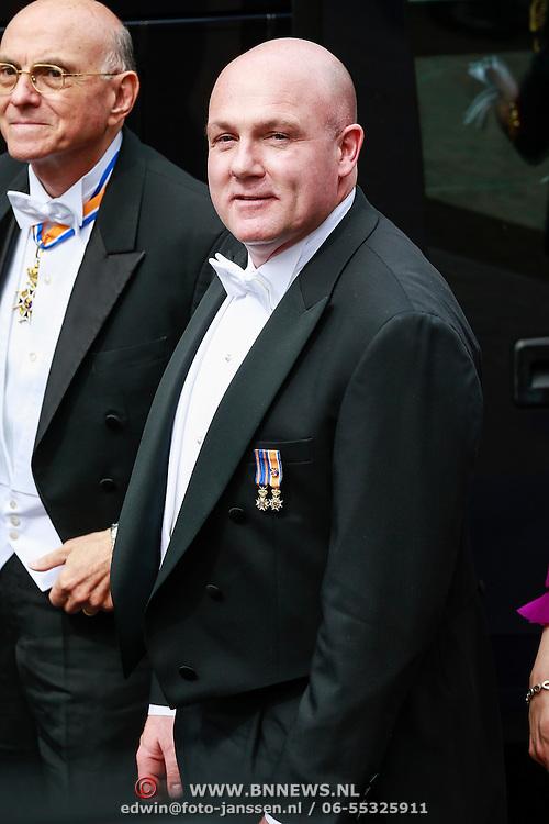 NLD/Amsterdam/20130430 - Inhuldiging Koning Willem - Alexander, Andre Kuipers