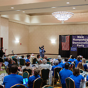 Newark NH Mayor Cory Booker speaks at a NH Democratic Party Breakfast at the 2012 Democratic National Convention
