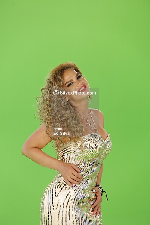 GLENDALE, CA - JUNE 26: Niurka Marcos taping for the Rica Famosa Latina Fifth Season at the CML Studios in Glendale, California on June 26, 2017. Byline, credit, TV usage, web usage or linkback must read SILVEXPHOTO.COM. Failure to byline correctly will incur double the agreed fee. Tel: +1 714 504 6870.