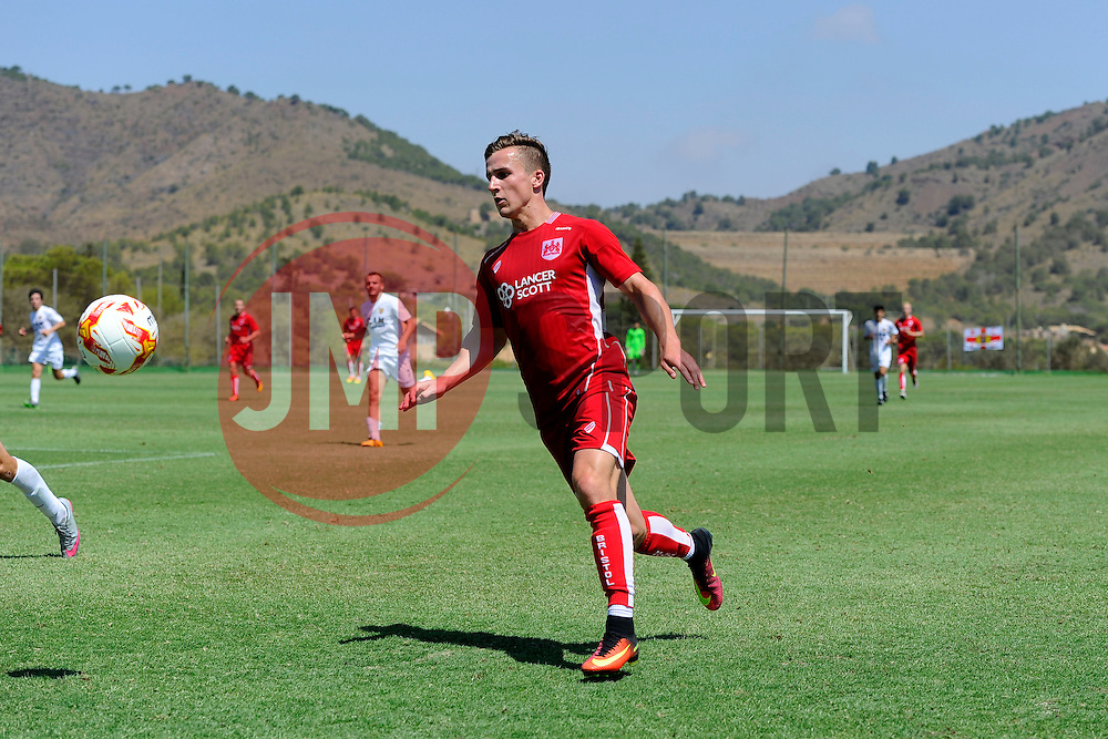 Joe Bryan of Bristol City prepares to cross the ball  - Mandatory by-line: Joe Meredith/JMP - 22/07/2016 - FOOTBALL - La Manga Training Ground - La Manga, Murcia - UCAM v Bristol City - Pre-season friendly