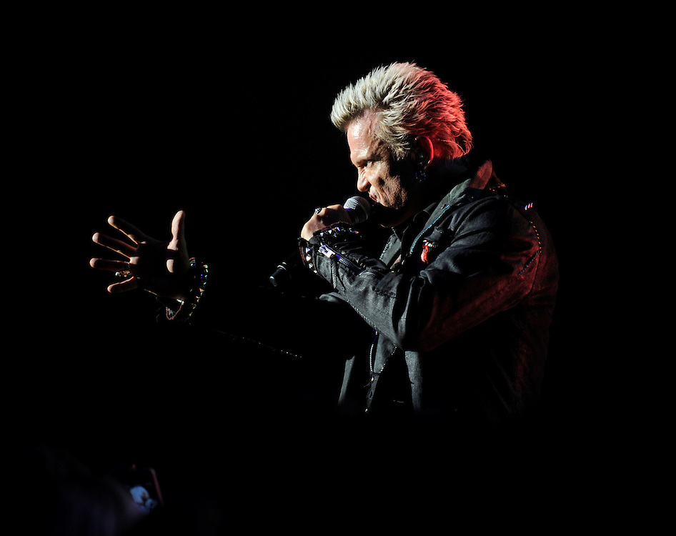 Rocker Billy Idol performs Tuesday, June 18, 2013 at Ruth Eckerd Hall in Clearwater. Idol, 57, played to a capacity crowd.