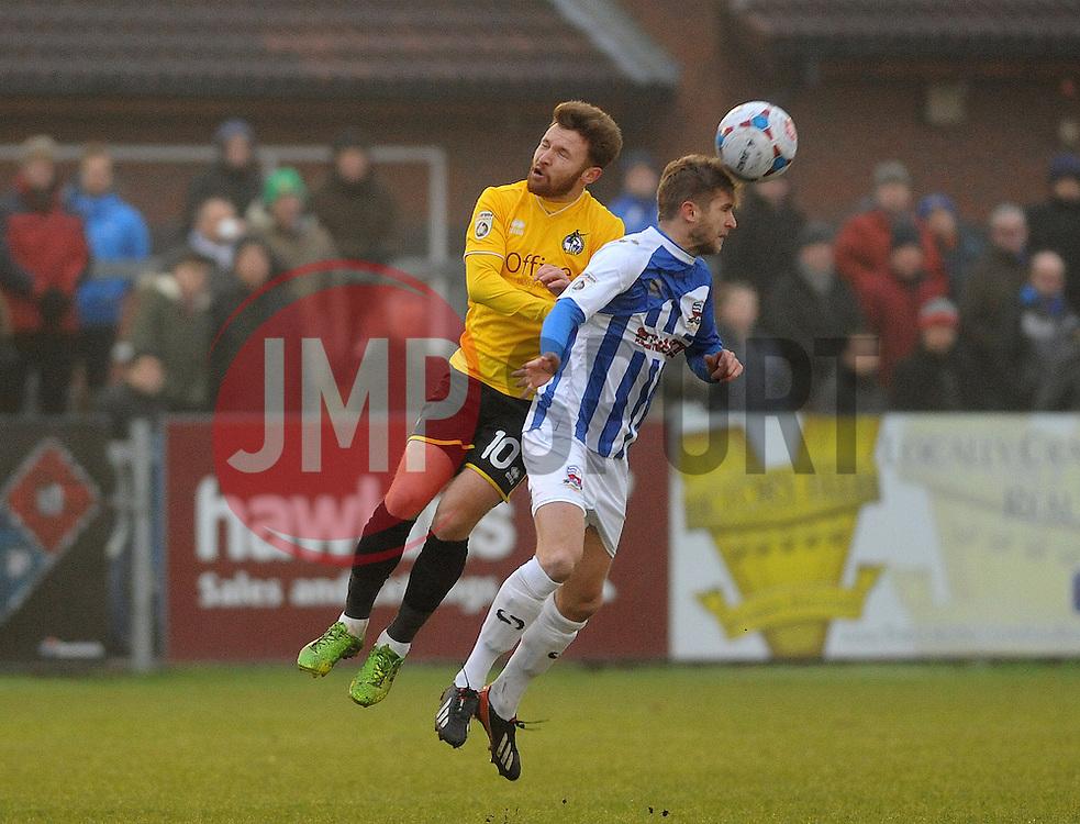 Bristol Rovers' Matty Taylor - Photo mandatory by-line: Neil Brookman/JMP - Mobile: 07966 386802 - 04/01/2015 - SPORT - football - Nuneaton - James Parnell Stadium - Nuneaton Town v Bristol Rovers - Vanarama Conference