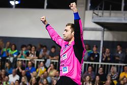Klemen Ferlin of Slovenia during friendly handball match between Slovenia and Nederland, on October 25, 2019 in Športna dvorana Hardek, Ormož, Slovenia. Photo by Blaž Weindorfer / Sportida