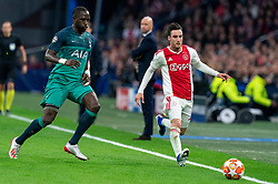08-05-2019 NED: Semi Final Champions League AFC Ajax - Tottenham Hotspur, Amsterdam<br /> After a dramatic ending, Ajax has not been able to reach the final of the Champions League. In the final second Tottenham Hotspur scored 3-2 / Nicolas Tagliafico #31 of Ajax