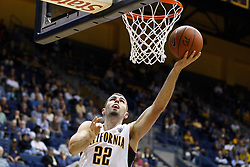 November 16, 2010; Berkeley, CA, USA;  California Golden Bears forward Harper Kamp (22) shoots against the Cal State Northridge Matadors during the first half at Haas Pavilion.