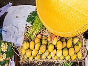 16 JUNE 2013 - YANGON, MYANMAR:  Mangos for sale in a market in Yangon. Yangon, formerly Rangoon, is the largest city in Myanmar. It is the former capital of the Southeast Asian country. It's still Myanmar's economic capital.     PHOTO BY JACK KURTZ