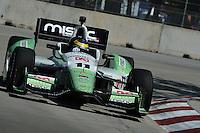 Sebastien Bourdais, The Raceway at Belle Isle Park, Detroit, MI USA 6/1/2014