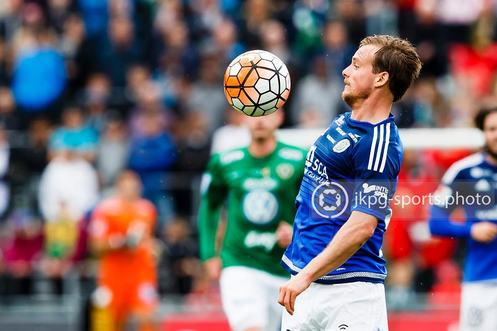 160528 Fotboll, Allsvenskan, J&ouml;nk&ouml;ping - Sundsvall<br /> (21) Eric Larsson, GIF Sundsvall, singel action.<br /> &copy; Daniel Malmberg/Jkpg Sports Photo