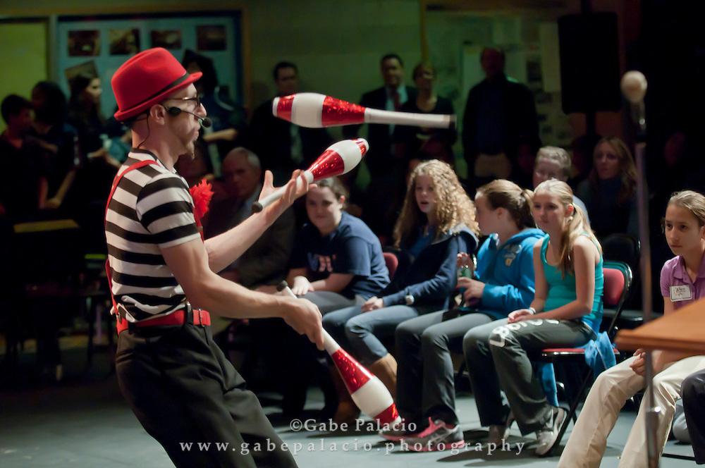 Harvey Speaks events at the Harvey School on November 29, 2011 in Katonah, NY..(photo by Gabe Palacio)