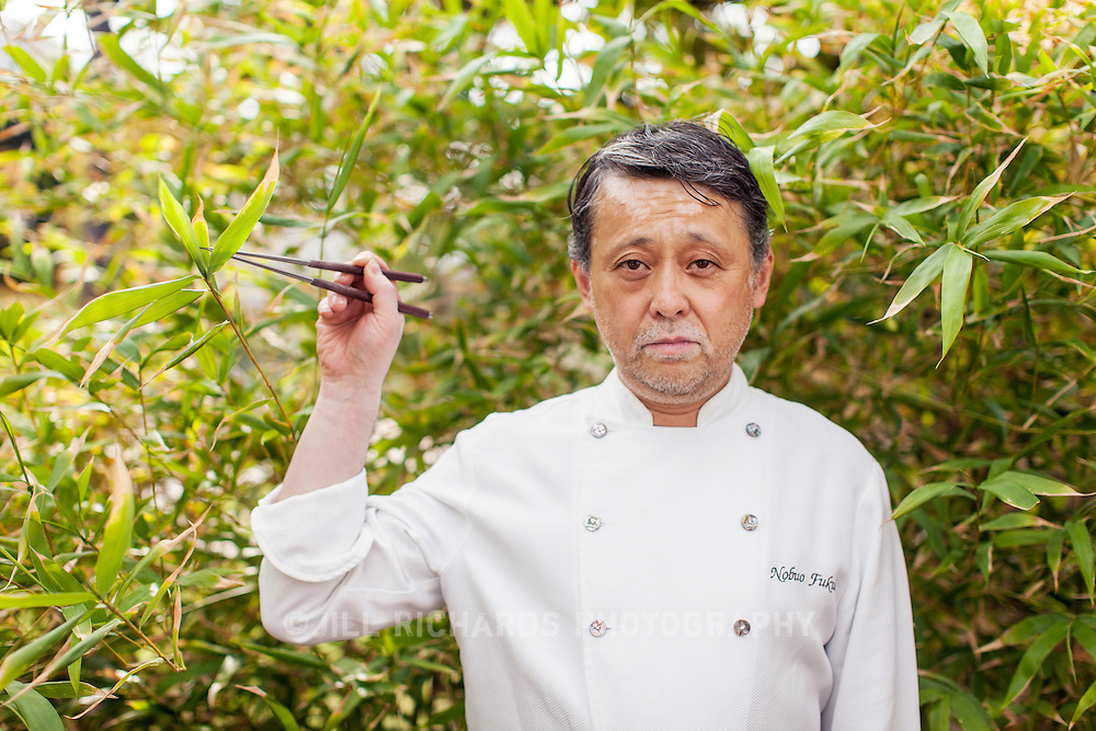 Nobuo Fukuda, of Nobuo at Teeter House in downtown Phoenix, AZ, is a James Beard award winning chef.