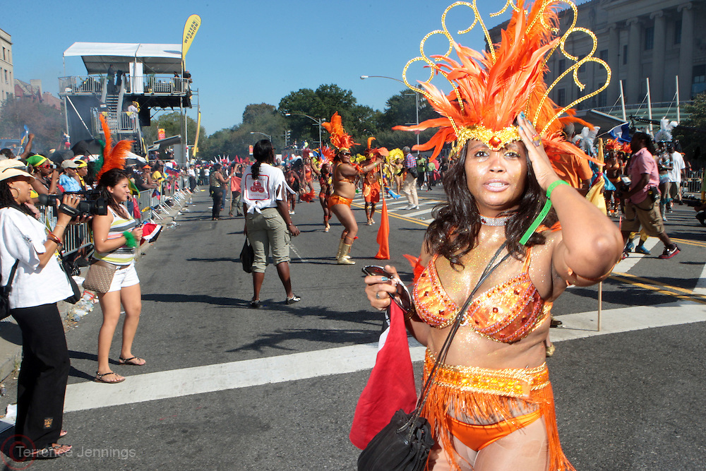 6 September 2010- Brooklyn, NY- Participants at the 43rd Annual West Indian Day Parade held along Brooklyn's famed Eastern Parkway on September 6, 2010 in Brooklyn, NY.