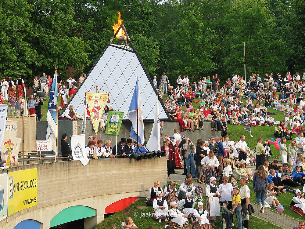 Song and Dance Festival, Tartu, Estonia 2004