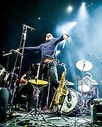 X Ambassadors perform at Key Arena in Seattle, WA. Photo by John Lill