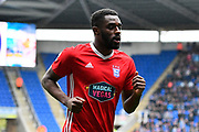 Mustapha Carayol (32) of Ipswich Town during the EFL Sky Bet Championship match between Reading and Ipswich Town at the Madejski Stadium, Reading, England on 28 April 2018. Picture by Graham Hunt.