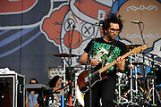 Motion City Soundtrack performing at The Bamboozle in East Rutherford, New Jersey. May 2, 2010. Copyright © 2010 Matt Eisman. All Rights Reserved.