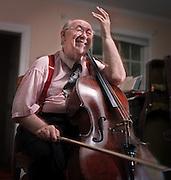 BALTIMORE, MD-- 9/1/00--Mihaly Virizlay (cq), cello
