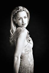 Rio, La Moda Models, Prestwold Hall, Leicestershire. Gown: Sparklewren Jewels: Jacq Brill at Beloved Vintage Bridal MUAH: Lucy