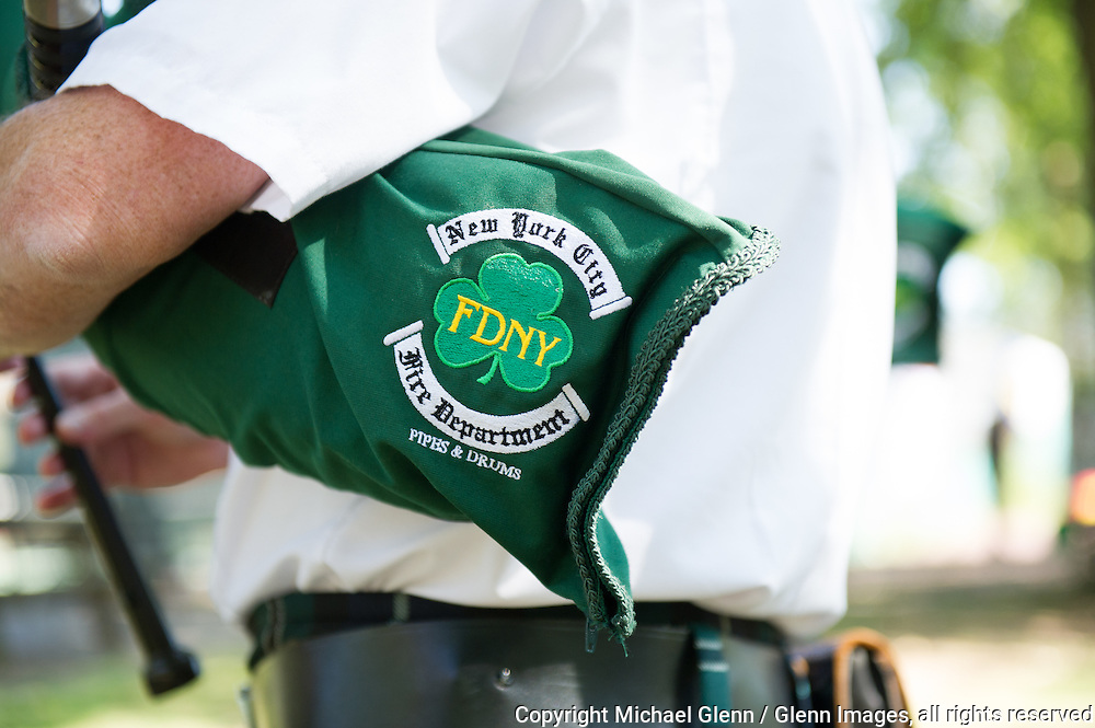 19 Sep 2015 Staten Island, New York US //  FDNY Emerald Society Bagpipes for the 8th annual Lt. John Martinson Memorial Picnic at the Hillside Swim Club //  Michael Glenn  /   for the FDNY