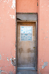 abandoned doorway in New Mexico
