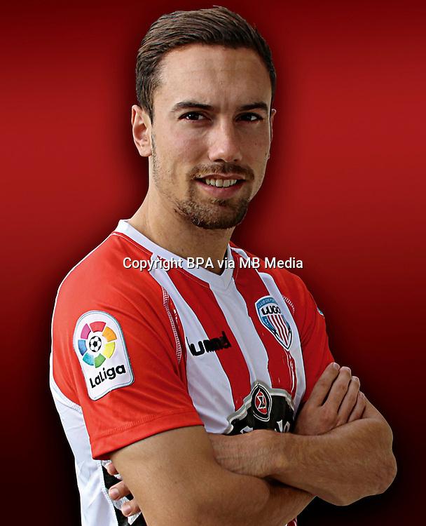 Spain - La Liga B 123 _ 2016-2017 / <br /> ( C.D. Lugo ) - <br /> Adria Carmona Perez &quot; Adria Carmona &quot;
