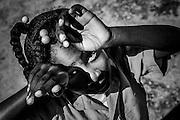 Pueblo Juanillo es un pequeño asentamiento construido artificialmente para alojar a 40 familias que fueron desplazadas de su emplazamiento natural frente al mar en la zona que hoy ocupa el resort más lujoso del sector turistico en todo el Caribe, Cap Cana; a escasos kilometros está Punta Cana, el primer resort que se desarrolló en la zona y que da su nombre a este destino turístico de renombre mundial. El asentamiento original estaba situado a la orilla del mar y sobrevivía principalmente de la pesca. En el año 2002, y para construir un restaurante de playa, los propietarios del proyecto Cap Cana ofrecieron a los  habitantes un pueblo nuevo con casas prefabricadas, servicios básicos y una mejor calidad de vida, a tan solo a tres kilometros del antiguo, pero alejado de la costa. El acceso a la zona donde pescaban quedó restringido, con lo que perdieron su sustento tradicional, y muchos se marcharon del pueblo. Los que llegaron fueron mayoritarimente gente de otras zonas del país en busca de una oportunidad en la industria turística de la zona, como vigilantes de seguridad o jardineros. Los servicios dejaron de suministrarse poco a poco y el pueblo ha sobrevivido entre suciedad, cortes de luz, e incomunicación por más de diez años.  Actualmente se empieza a gestionar gracias a diversos organismos locales, promotores y ONGs una ayuda para volver a integrar a estas personas en el medio y proporcionar a sus hijos una educación suficiente mediante la escuela, que los acoge solamente desde el 2010.