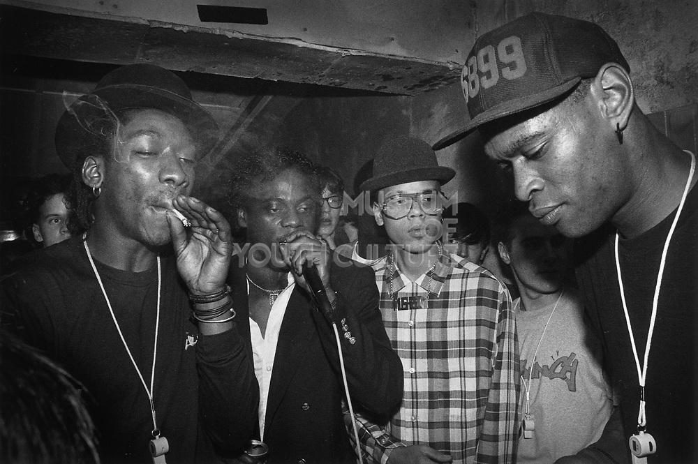 Smokin' Da Mic, The Crypt, Bristol, 1985