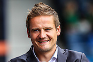 Neal Ardley Manager of AFC Wimbledon before the Sky Bet League 2 match at Kenilworth Road, Luton<br /> Picture by David Horn/Focus Images Ltd +44 7545 970036<br /> 16/08/2014