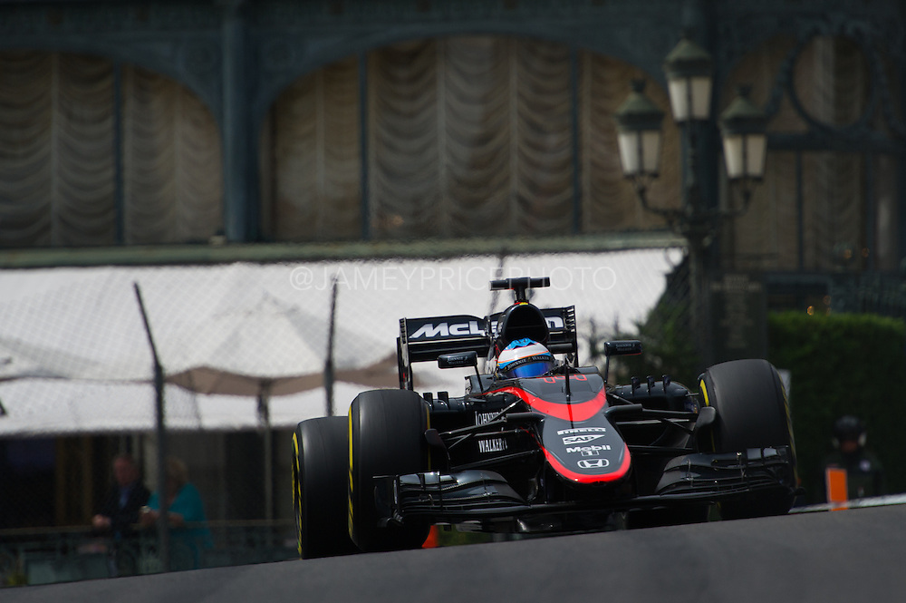 May 20-24, 2015: Monaco F1: Fernando Alonso (SPA), McLaren Honda