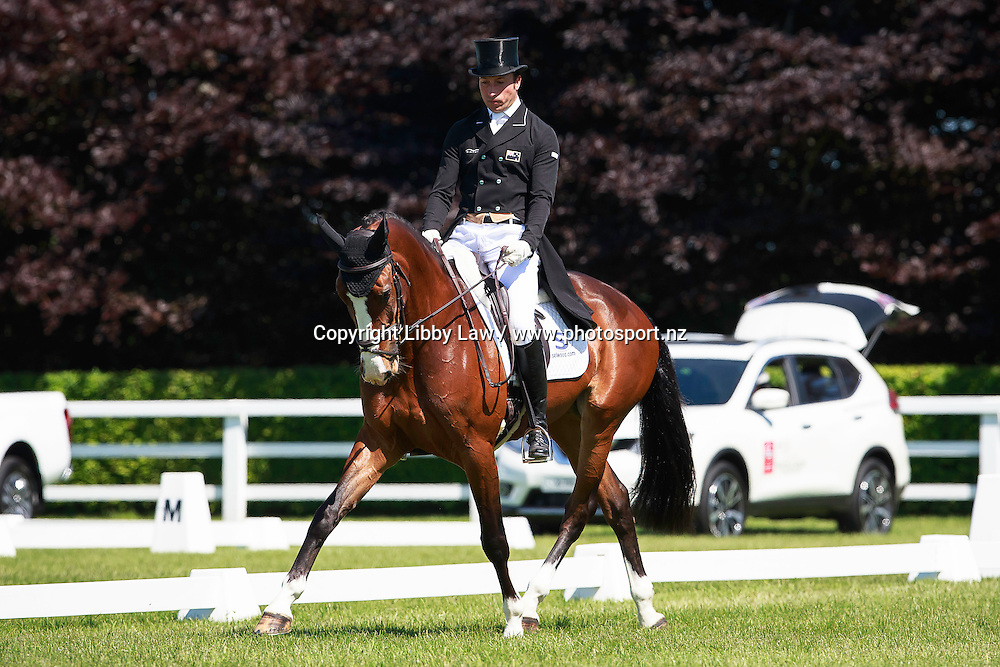 NZL-Tim Price (KOH I NOOR) INTERIM-7TH: LAND ROVER CCI1*: 2016 IRL-Tattersalls International Horse Trial (Thursday 2 June) CREDIT: Libby Law COPYRIGHT: LIBBY LAW PHOTOGRAPHY