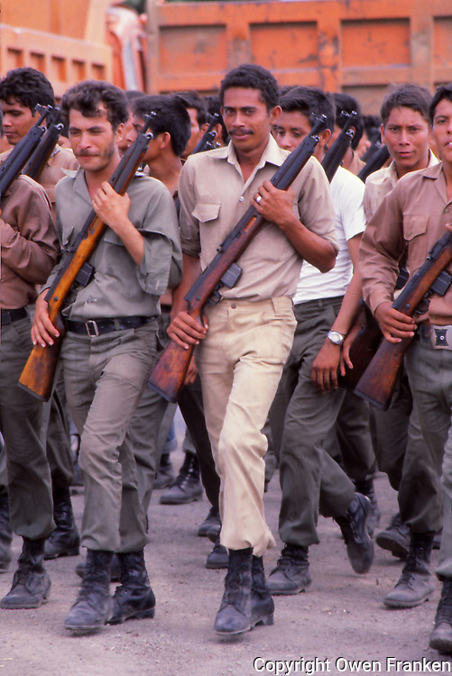 Nicaragua soldiers
