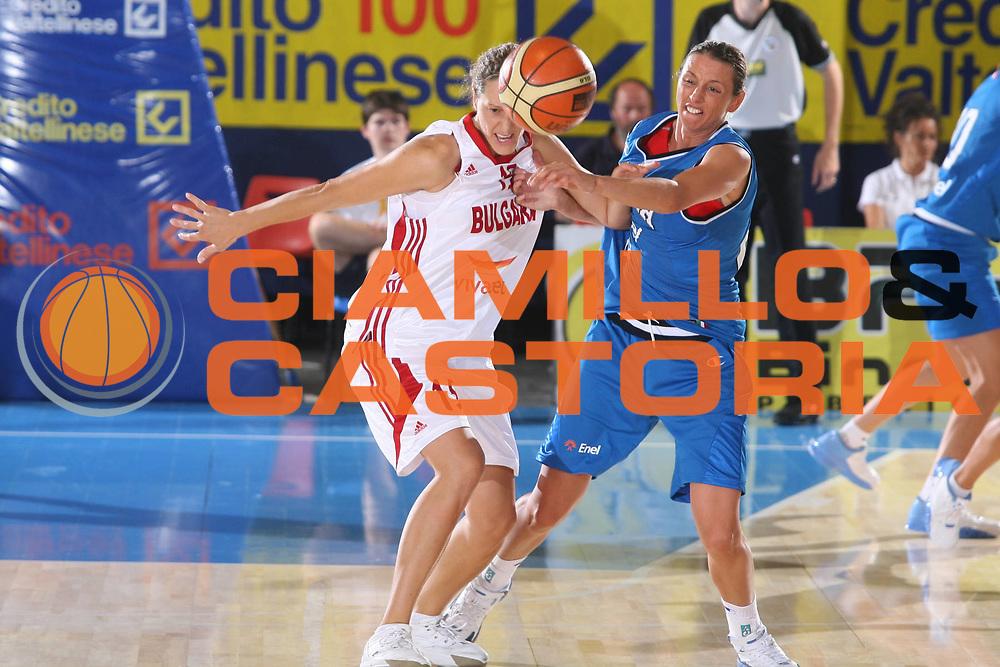 DESCRIZIONE : Bormio Torneo Preparazione Europei Nazionale Femminile 2007 Italia Bulgaria <br /> GIOCATORE : Laura Macchi <br /> SQUADRA : Nazionale Italia Femminile <br /> EVENTO : Torneo Preparazione Europei Nazionale Femminile 2007 <br /> GARA : Italia Bulgaria <br /> DATA : 12/08/2007 <br /> CATEGORIA : <br /> SPORT : Pallacanestro <br /> AUTORE : Agenzia Ciamillo-Castoria/G.Ciamillo