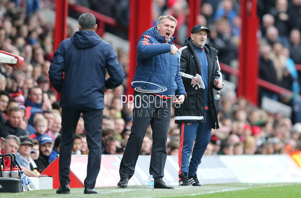 Brentford head coach (Manager) Dean Smith during the Sky Bet Championship match between Brentford and Brighton and Hove Albion at Griffin Park, London, England on 26 December 2015.