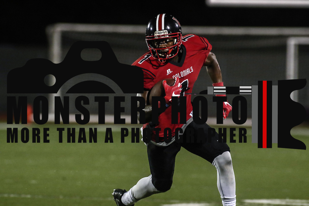 William Penn quarterback ZACHARIAH BURTON (1) rushes for 10 yards in the second quarter of a week one DIAA game between William Penn and St. Georges, Friday, Sept. 09, 2016 at CARAVEL Academy in Bear, DE.